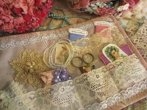 lace needlebook.